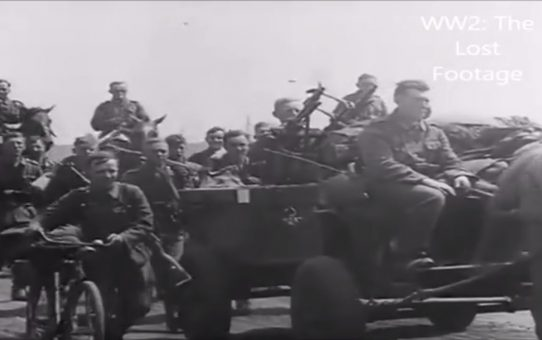 Second Battle of Kharkov (complete original footage, 1942)