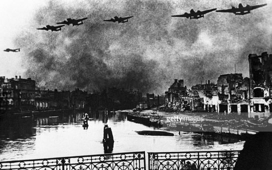 9 April 1945 - the city of Königsberg surrenders to the Soviet forces