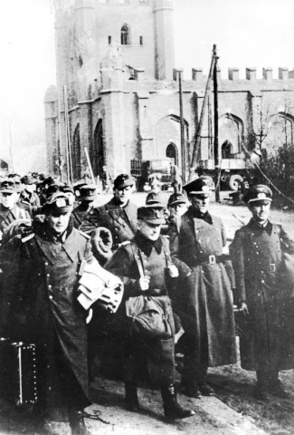 German officers - Battle of Königsberg