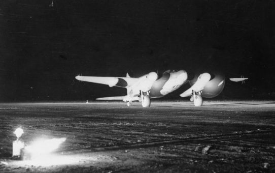 27-28 April 1942: No.157 Squadron (RAF) becomes the first operational Mosquito night fighter squadron