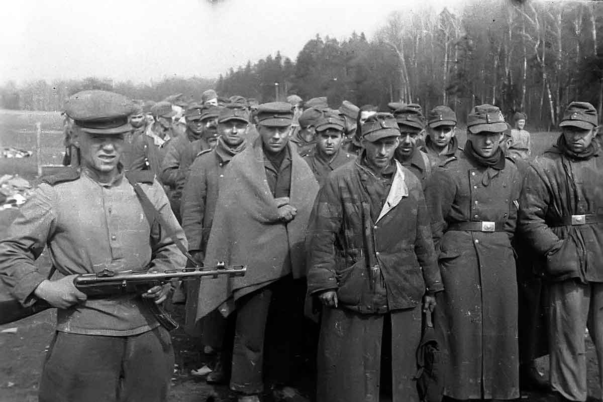 German POWs - Battle of Königsberg