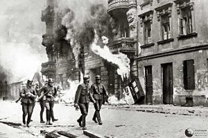 Warsaw uprising - German soldiers