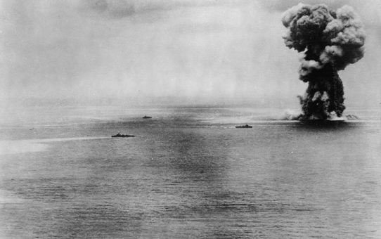72 years from the sinking of the Japanese battleship Yamato: 7 April 1945