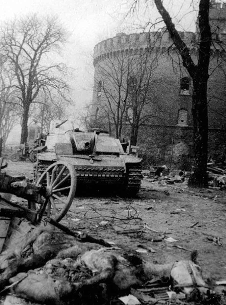 Destroyed Stug - Battle of Königsberg