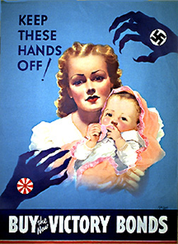 Allied propaganda poster