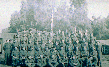 Monty and his sergeants May 1945