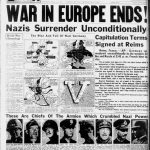 Allied, German and Soviet newspapers WW2
