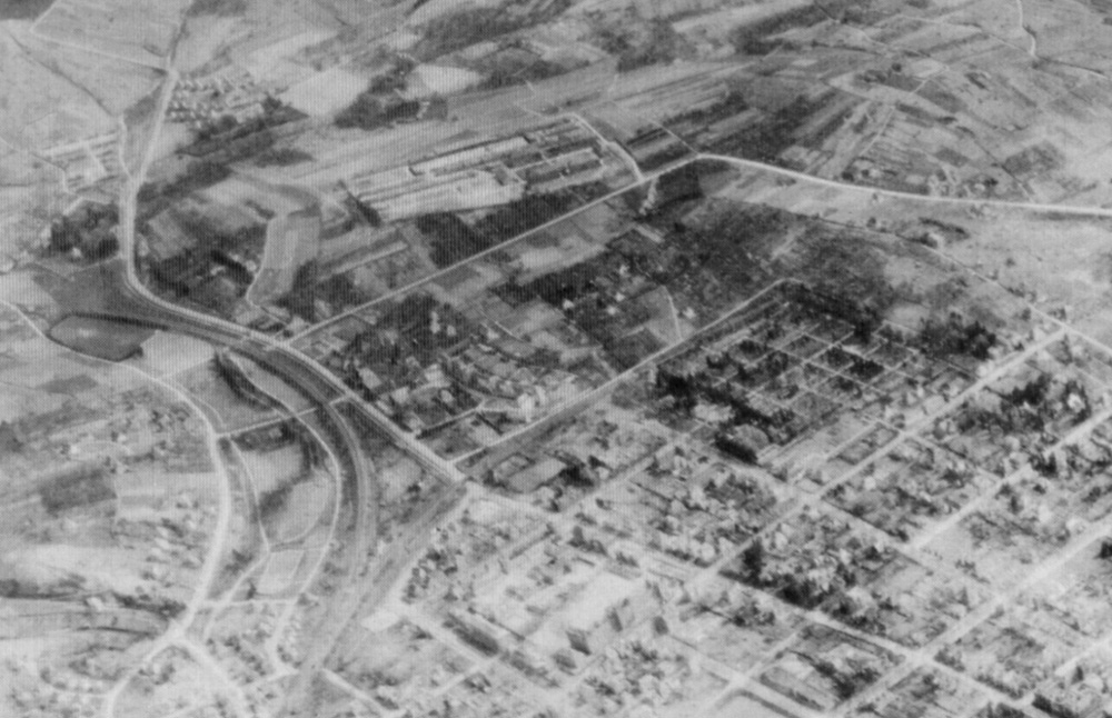 Battle of Heilbronn: Air View of Badenerhof Kaserne