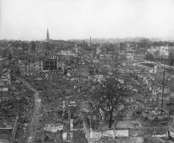 Battle of Heilbronn: after the air raids