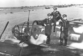 He 111 and its crew