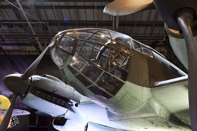 He 111 glass nose