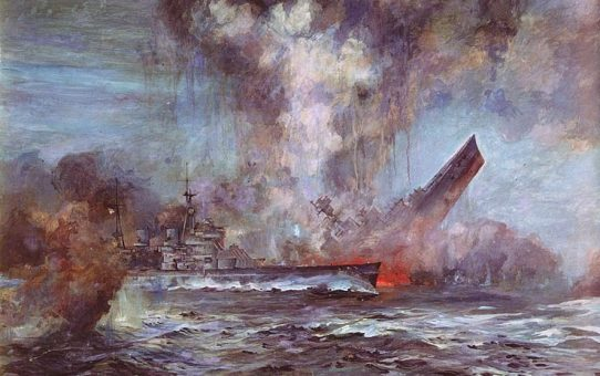 24 May 1941 - HMS Hood was sunk by the German battleship Bismarck